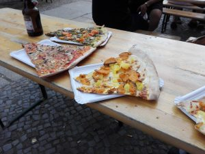 Ron Telesky pizza Berlino